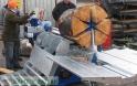 Fekvő fa hasító gép
