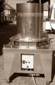 Szalma daráló gép